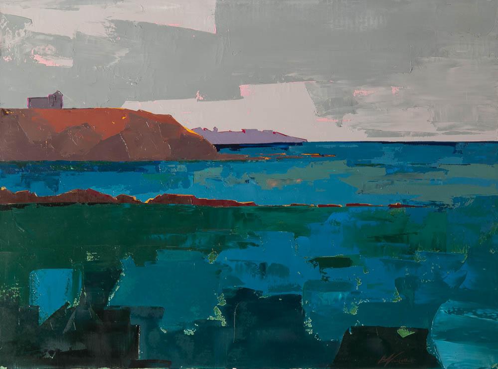 n°36 Deux falaises (81x60)