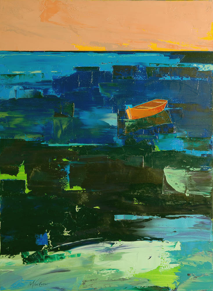n°24 Barque (81x60) - Collection particulière