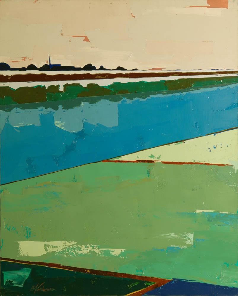 N°5 Marais lisses (81x65) - Collection Particulière