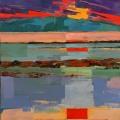 Coucher de soleil 2 (73x54) - Collection Particulière