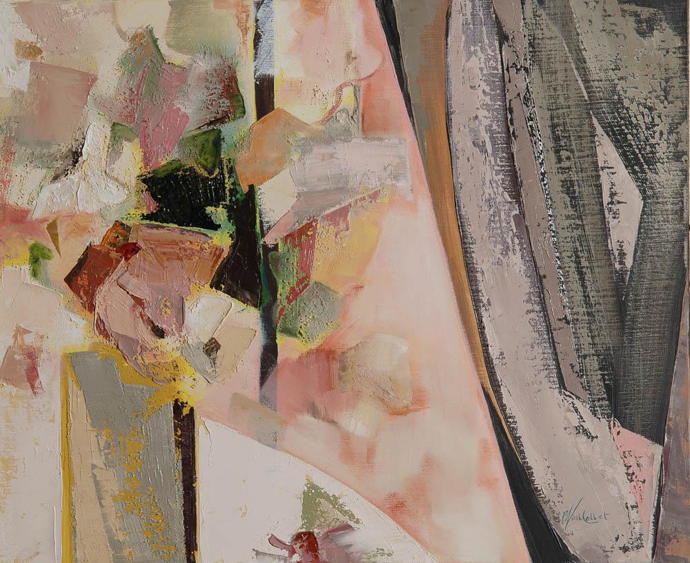 n°121 Bouquet au rideau (61x50)