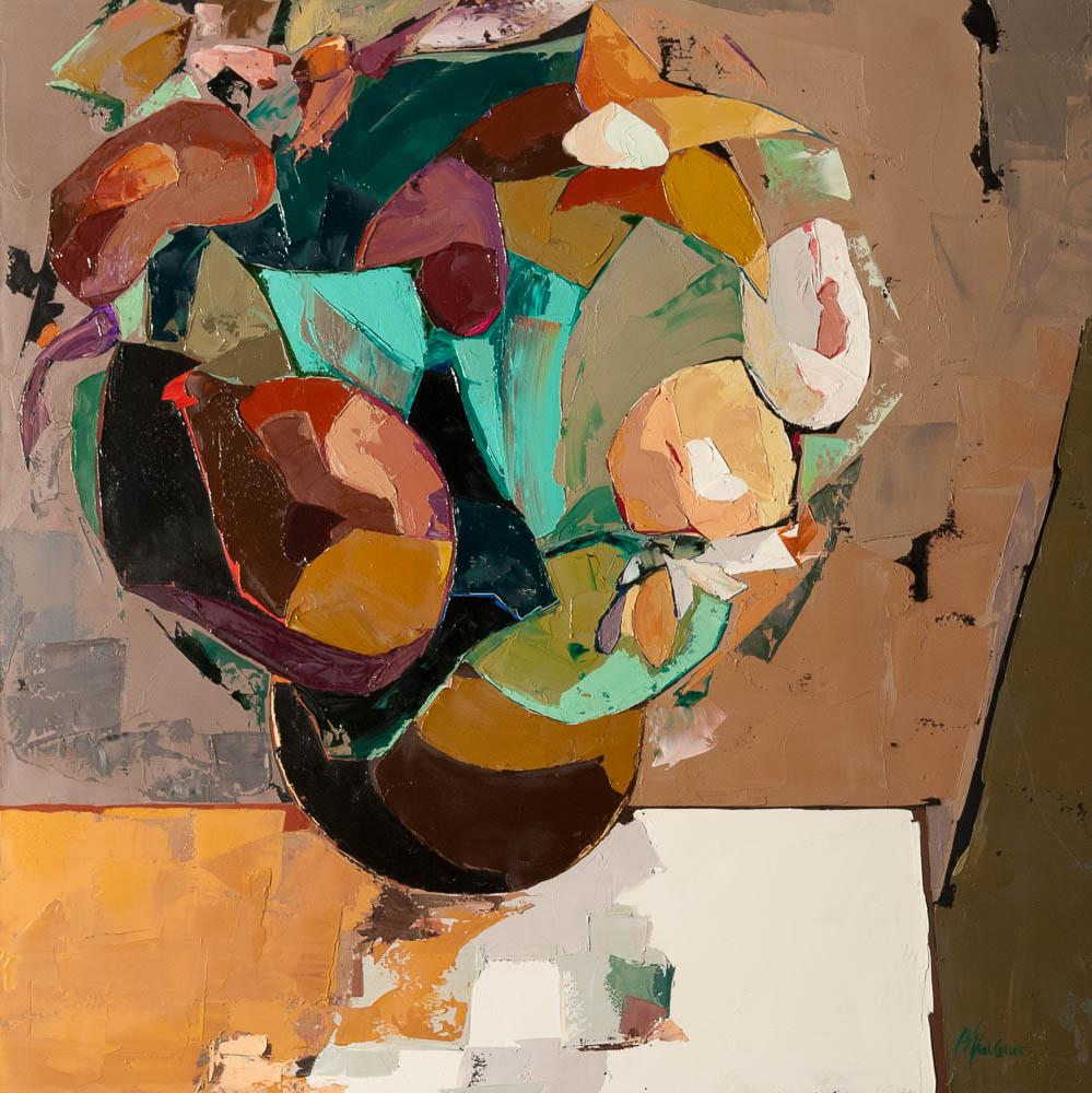 n°38 Bouquet débordant (80x80)