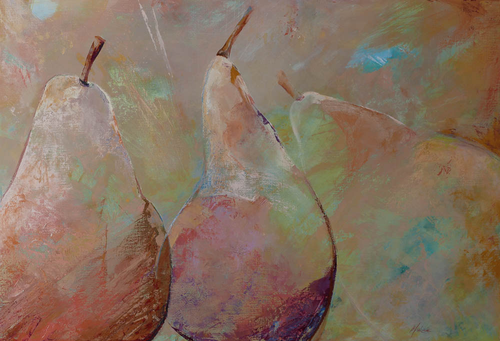 n°211 Trois Poires pâles (130x89) - Collection particulère