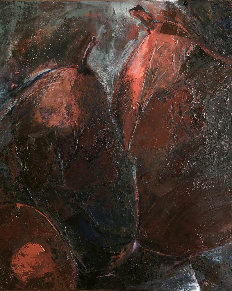 Poires 2 (100x81) - Collection Particulière