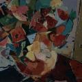 n°51 Bouquet par terre (65x54)