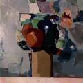 Fleurs pastel (73x60) - Collection particulière
