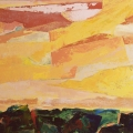 n°133 Ciel jaune (81x60)