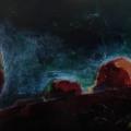 n°19 Crépuscule, lueurs (73x54)