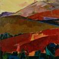 n°111 Montagne petite (65x54) - Collection Particulière