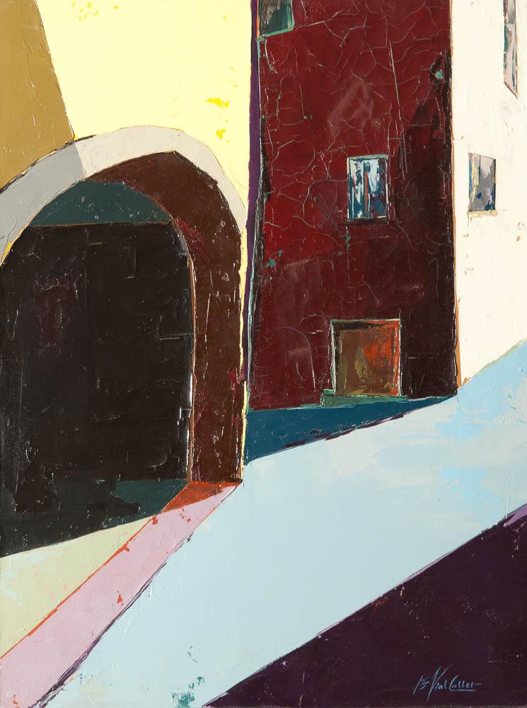 n°27 Provence porte (61x46)