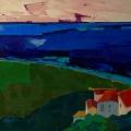 n°50 Eze sur la mer (81x65)