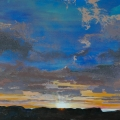 n°216 Ciel au soleil couché (116x81) - Collection particulière